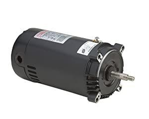 A.O. Smith ST1152 1-1/2 HP, 19.6/10.4-9.8 Amps, 1.5 Service Factor, 56J Frame, Capacitor Start/Capacitor Run, ODP Enclosure, C-Face Pool Motor