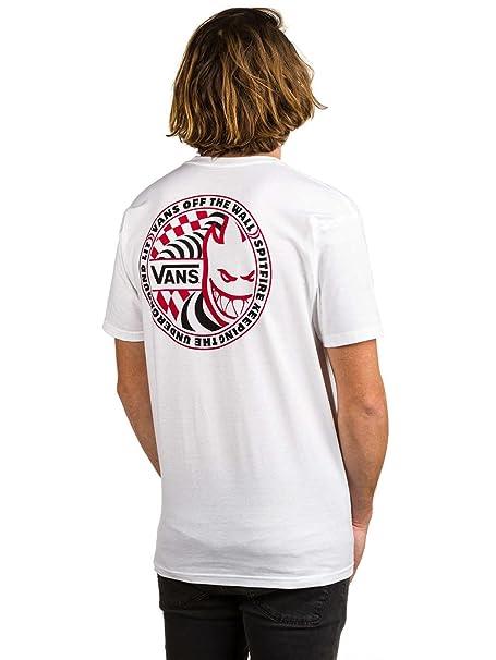 658576e3ca Vans x Spitfire T-Shirt (White)-Medium  Amazon.ca  Clothing ...