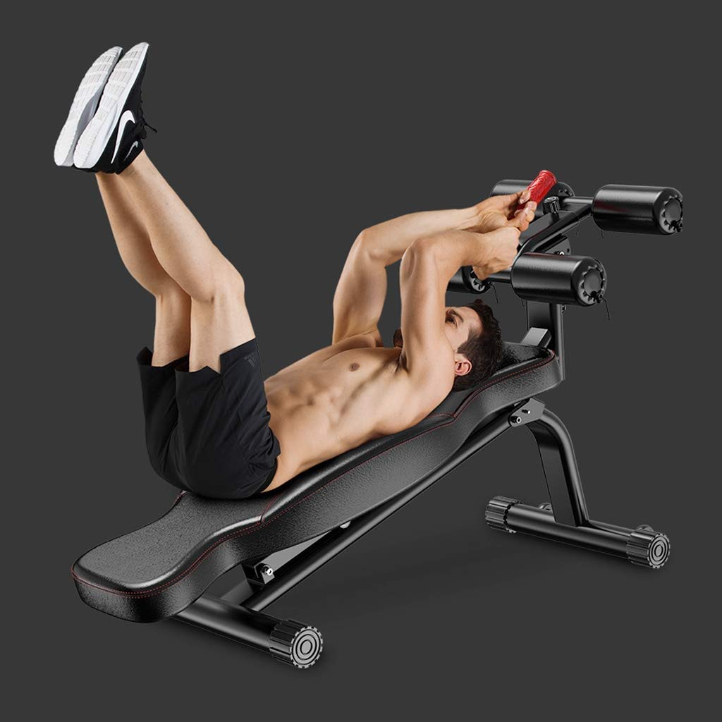 Core & Abdominal Trainers X-L-H Supine Board Sit-ups Fitness Equipment Multifunctional Dumbbell Bench for