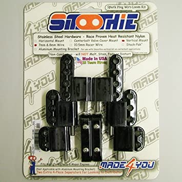 Amazon.com: Made For You 50-75611 Spark Plug Wire Looms Vertical ...