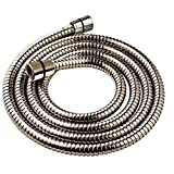 YOO.MEE Shower Hose 79 inch (6.5 Ft.) for Handheld Showerhead, Stainless Steel, Brushed Nickel