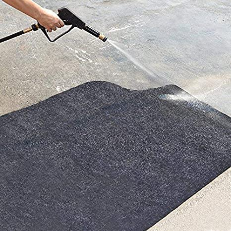 Absorbent Grill Pad Lightweight Washable Floor Mat to Protect Decks and Patios from Grease Splatter and Other Messes BBQ Mat 36 x 48 Under the Grill Mat,BBQ Grilling Gear for Gas//Electric Grill