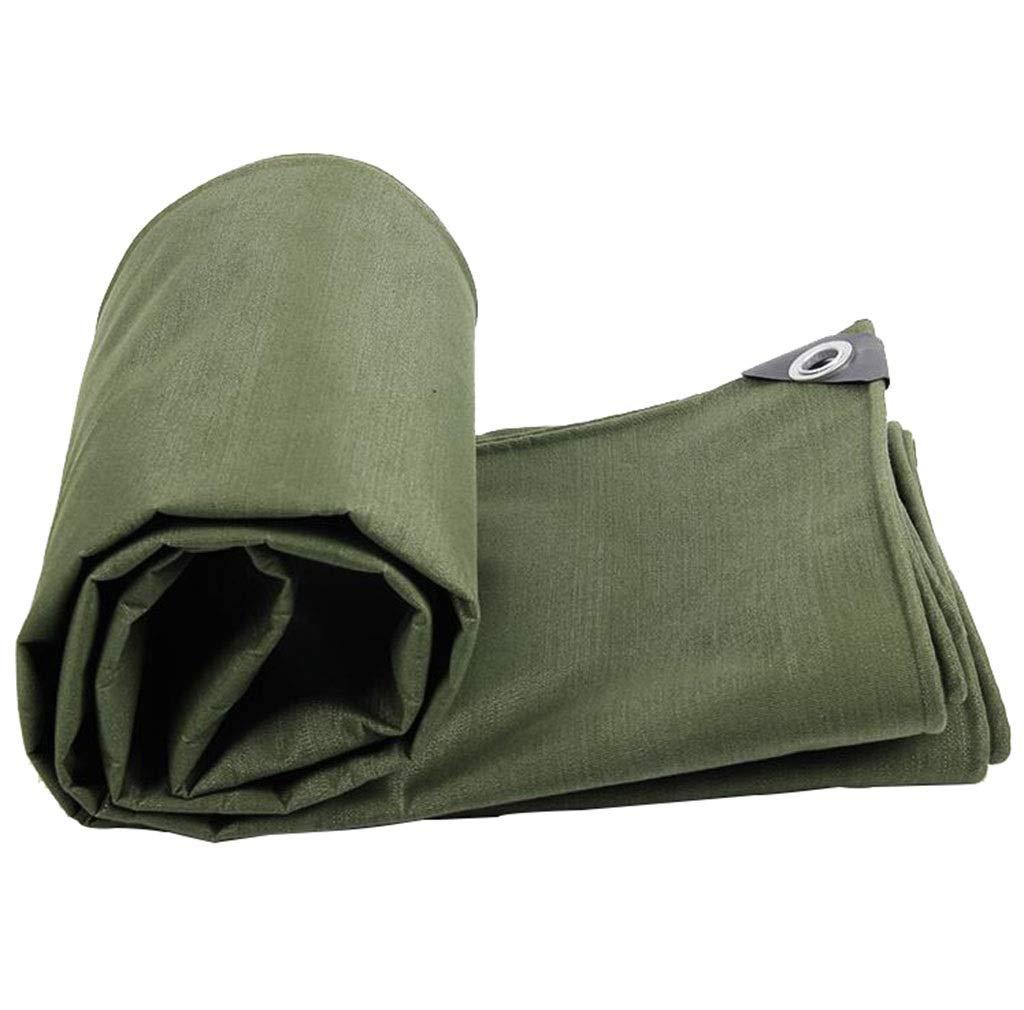 vendita outlet Yuke Tenda Tenda Tenda Impermeabile per Campeggio Esterna Telo Protezione Solare - verde 650 g m², Spessore 0,75 mm (Dimensioni   4x4m)  fabbrica diretta