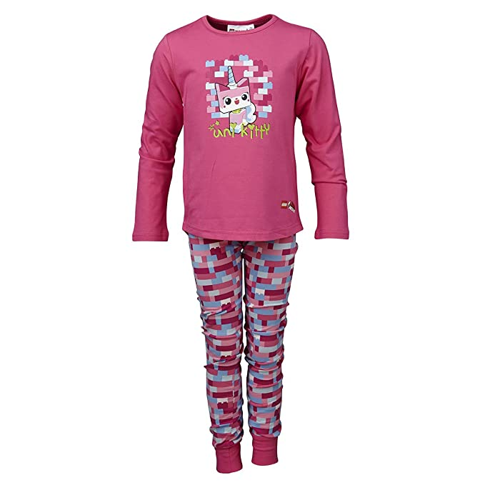 LEGO Wear Movie Schlafanzug Uni Kitty Albertine 120 - Pijama de dos piezas para niña,
