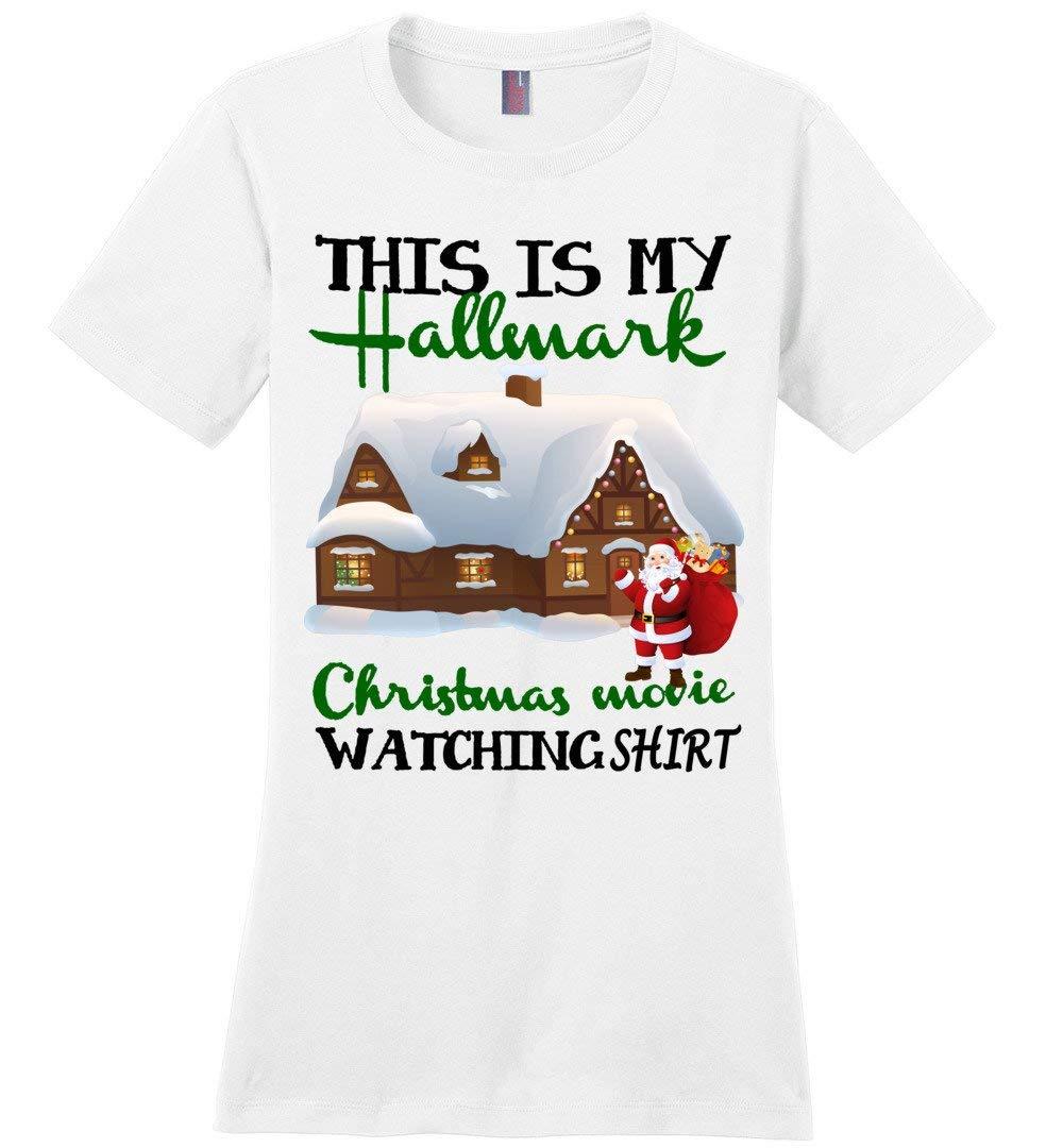This Is My Hallmark Movies Christmas Watching Cool Tshirt Gift Idea 7967