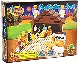 TRI38000 TRINITY TOYZ - Nativity Scene 50-piece Construction Block Set