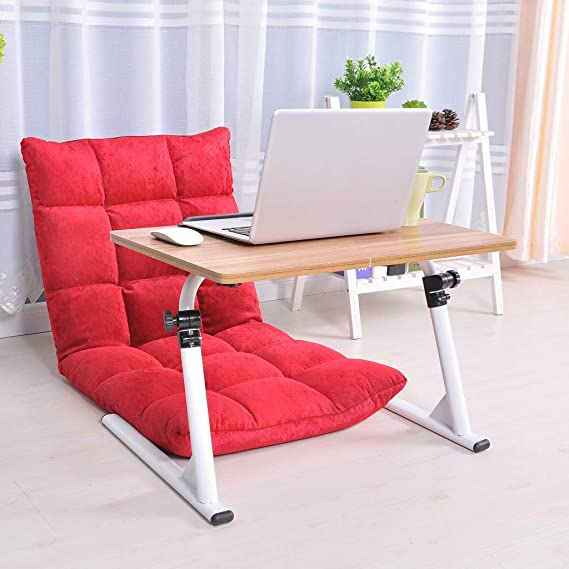 Chranto Lucky 7 Home Office Escritorio se Puede elevar y Bajar ...