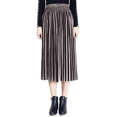 REFURBISHHOUSE All Seasons Moda Mujer Cintura Elástica de Cintura ...