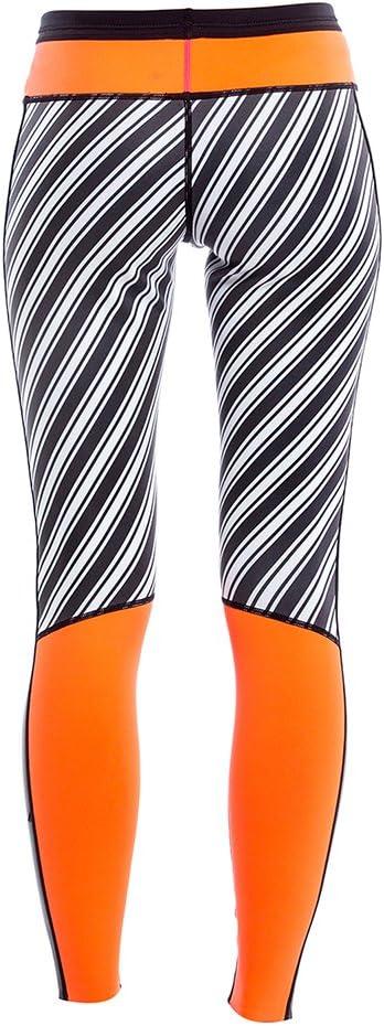 GlideSoul pour Femme Vibrant Stripes Collection Legging N/éopr/ène 1 mm