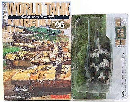 (Japan Import [10] Takara 1/144 World tank museum Vol.6 Leopard 2A6 winter camouflage separately)
