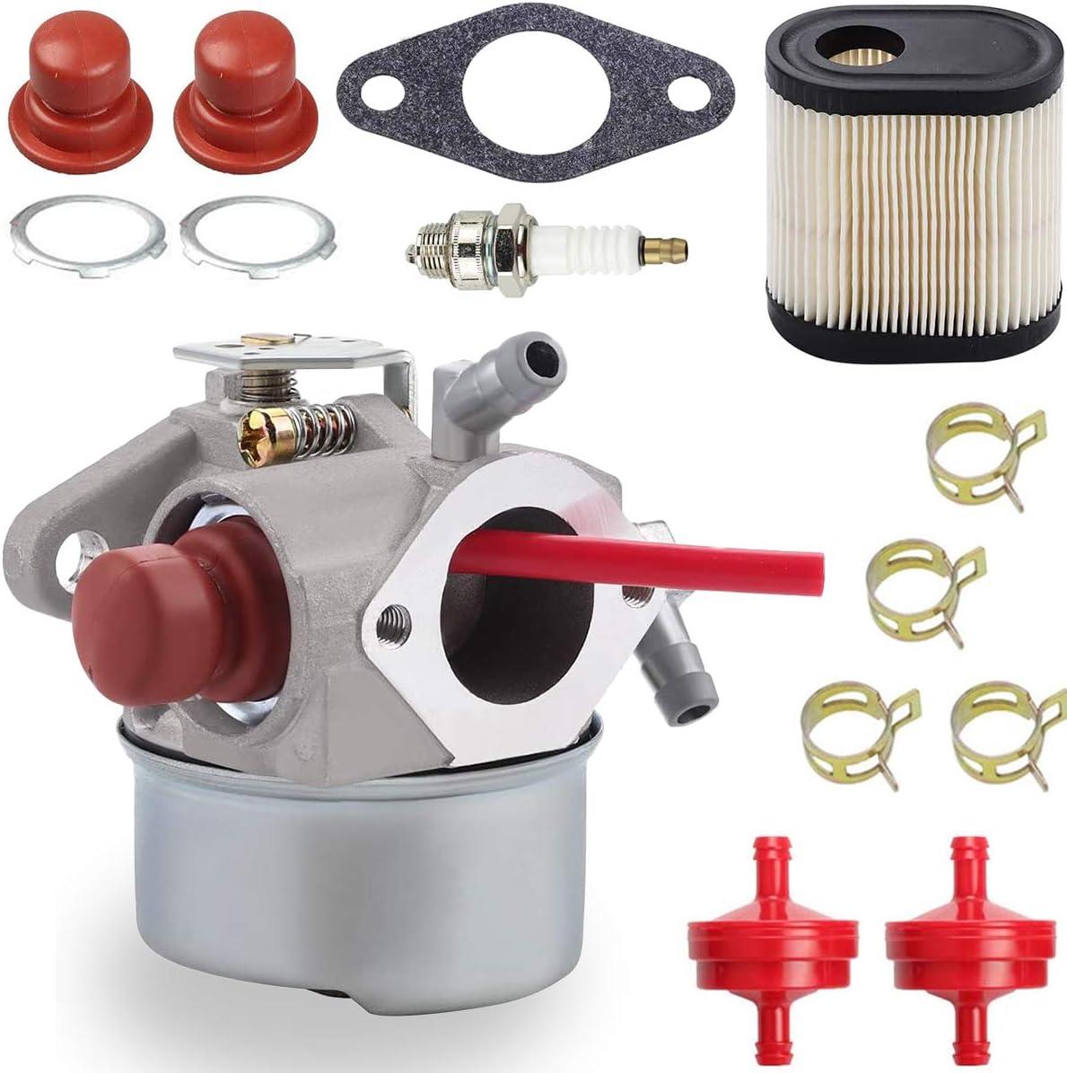 ZAMDOE 640350 Carburador para Tecumseh 640303 640278 640271 640338 LEV100 LEV105 LEV120 LV195EA LV195XA Toro 20016 20017 20018 6.75HP Recycler Motor de cortacésped