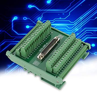 Terminal Block Wal front SCSI68 68-pin DB Type Female Connector Breakout Board Terminal Module,Connector
