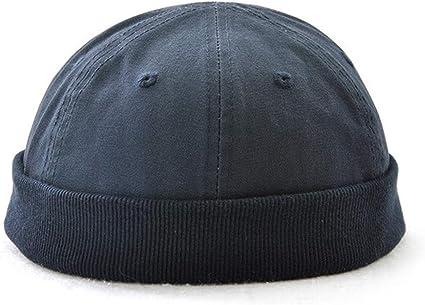 Sharplace Docker-Cap Docker-M/ütze Brimless Hat Seemannsm/ütze Seglerm/ütze Fischerm/ütze aus Baumwolle