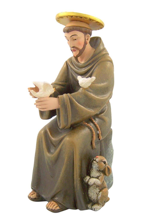 Seated Saint Francis Hummel Figure 6 Inch