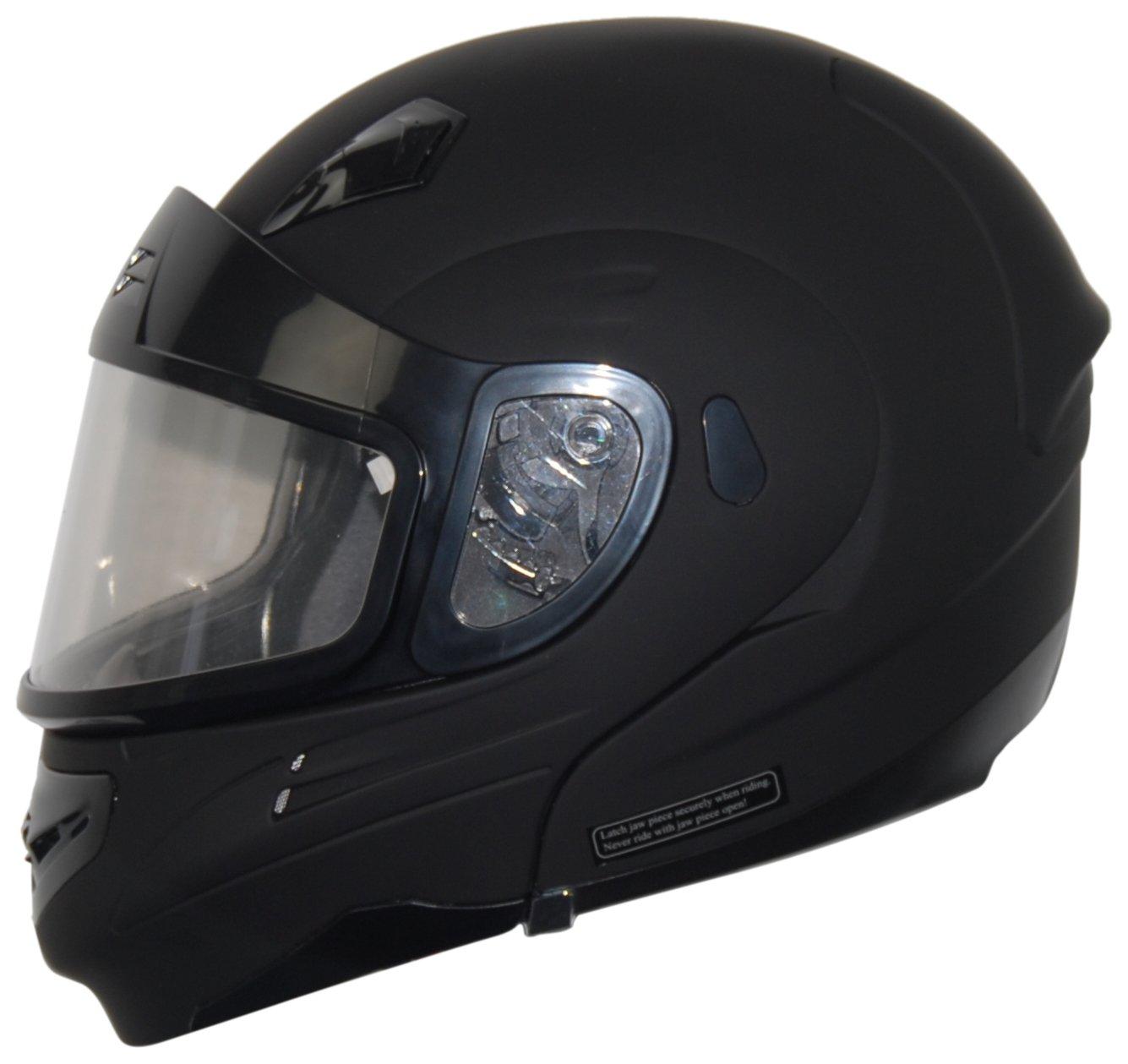 Vega Full Face Dual Lens Snowmobile Shield (Clear)