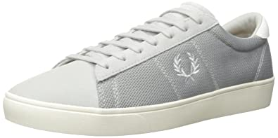 bd4605577a4b8 Fred Perry Men's Spencer Mesh and Leather Fashion Sneaker