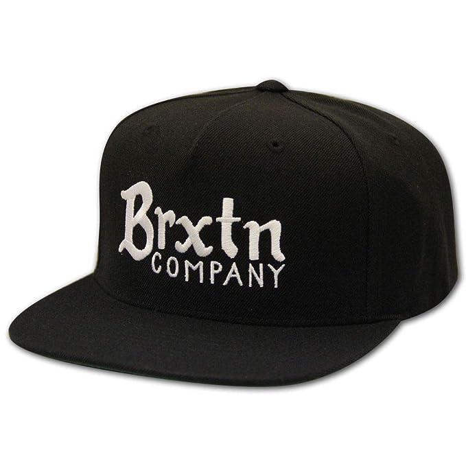 Brixton - Gorra de béisbol - para hombre negro negro única
