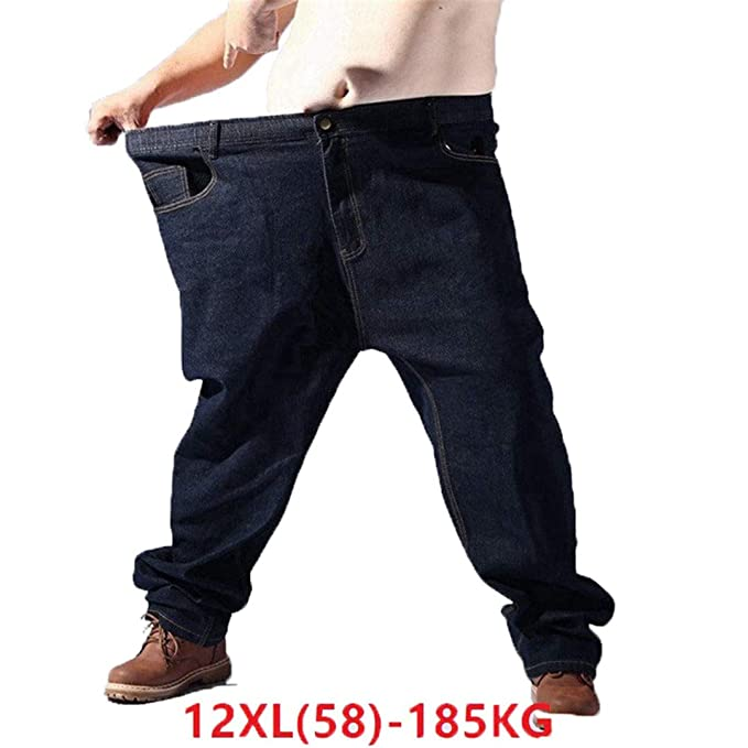 Amazon.com: Pantalones vaqueros para hombre, talla grande ...