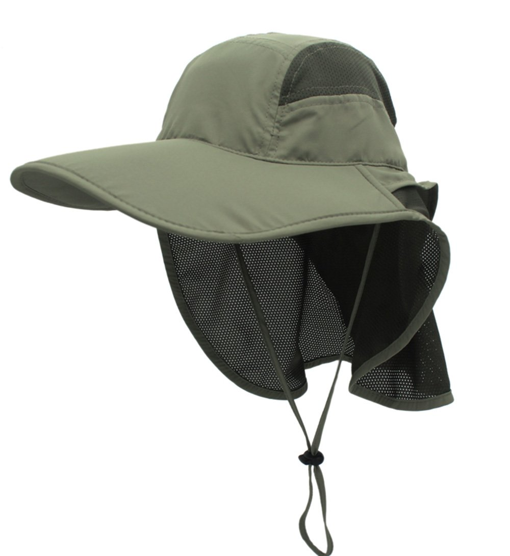 Protection Mesh Cap GG ST Sun Hat Men Women Summer Outdoor UV Outdoor UPF 50