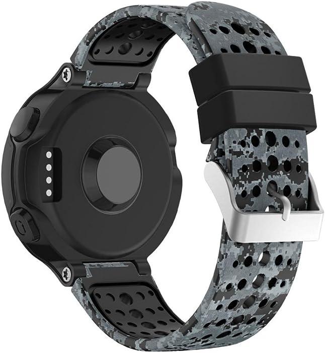 Para Garmin Forerunner 235 GPS Watch, ❤ Manadlian Correa de banda Reemplazo Silicagel Soft Para Garmin Forerunner 235 GPS Watch