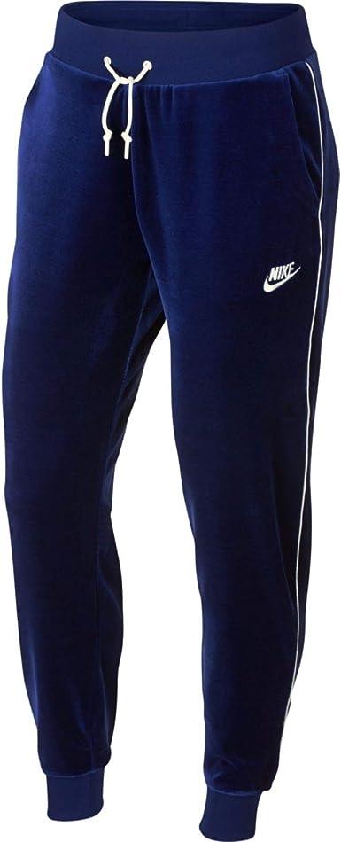 Nike Pantalones de chándal Sportswear para Mujer en Tela Azul ...