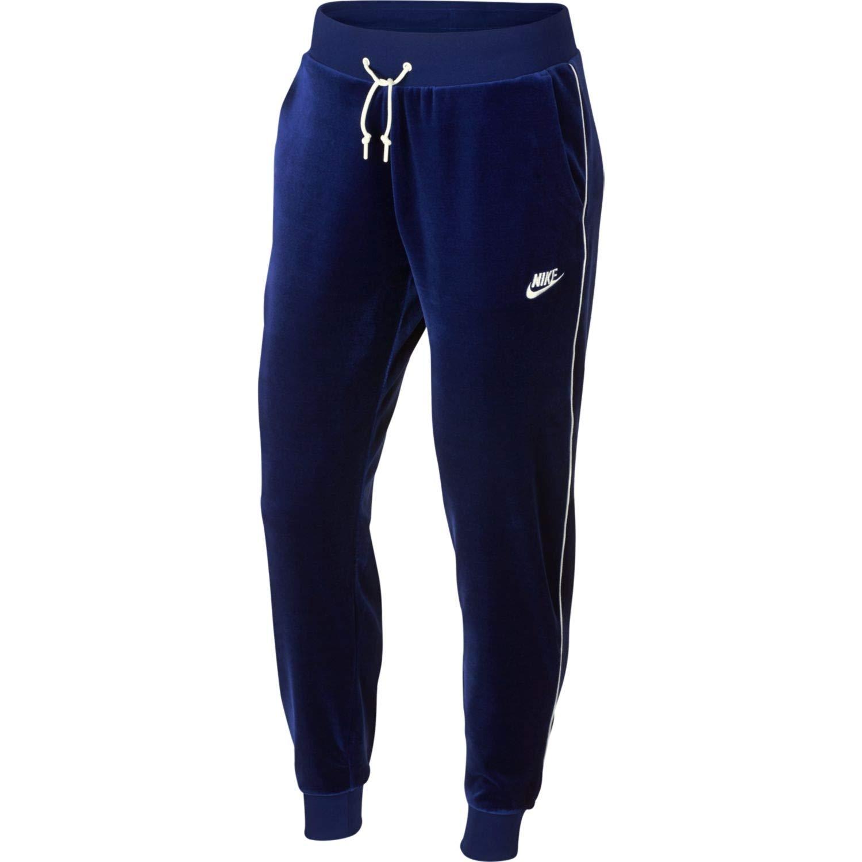 Nike Womens Velour, Pantalones Deportivos Mujer, Azul Marino, XS ...