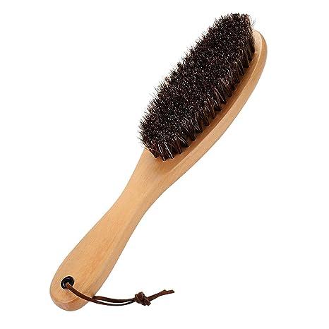 Cepillo para ropa, cepillo para ropa para remover pelusa, cepillo de cerdas de crin