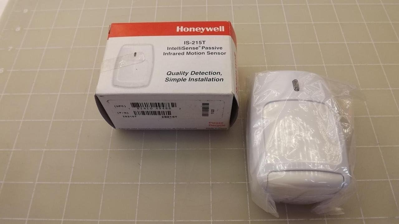 1- HONEYWELL S C IS215T PIR MOTION SENSOR, 12m IS-215T ACTUAL HONEYWELL. NOT KNOCK OFF