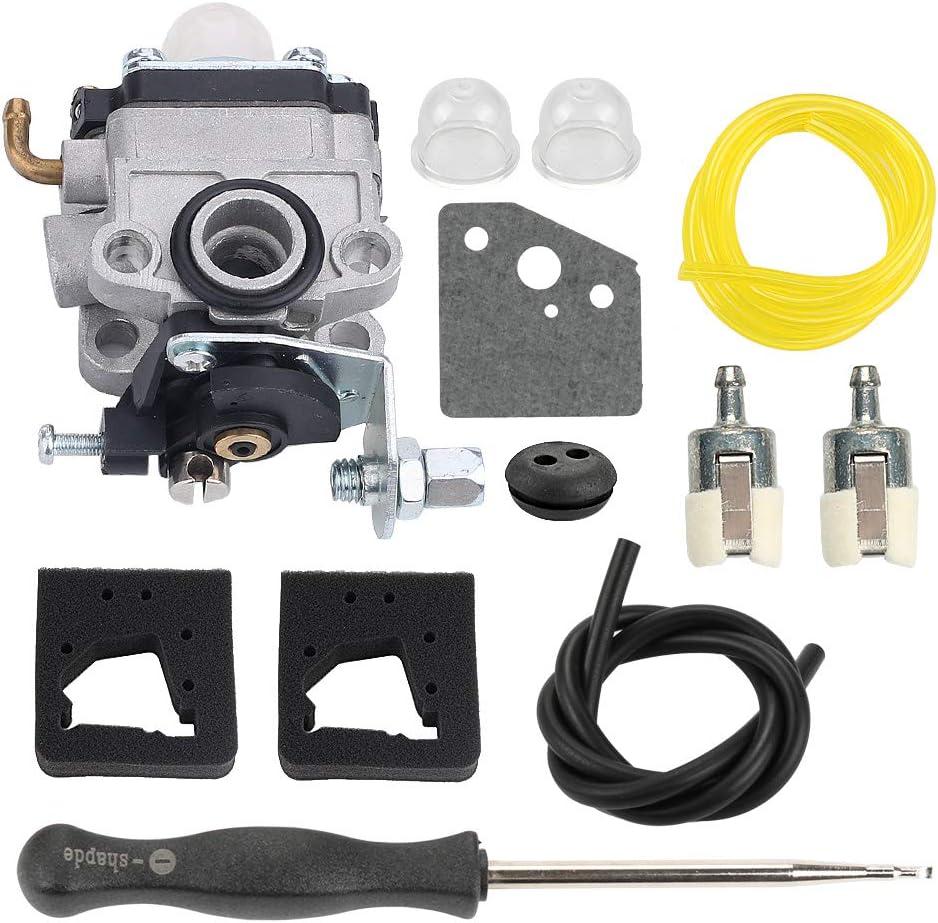 Carburetor For Troy-Bilt TB26TB TB475SS TB575SS TB525CS TB146EC TB590BC Trimmer