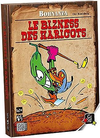 GIGAMIC ambiz – Juego de Cartas – Bohnanza – Le Business Des judías: Rosenberg, Uwe: Amazon.es: Juguetes y juegos