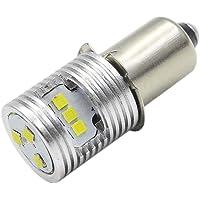Ruiandsion Upgrade LED Zaklamp Lamp P13.5S Basislampen 3V High Power CSP 9SMD Chipset Vervanging voor Koplamp Zaklamp…
