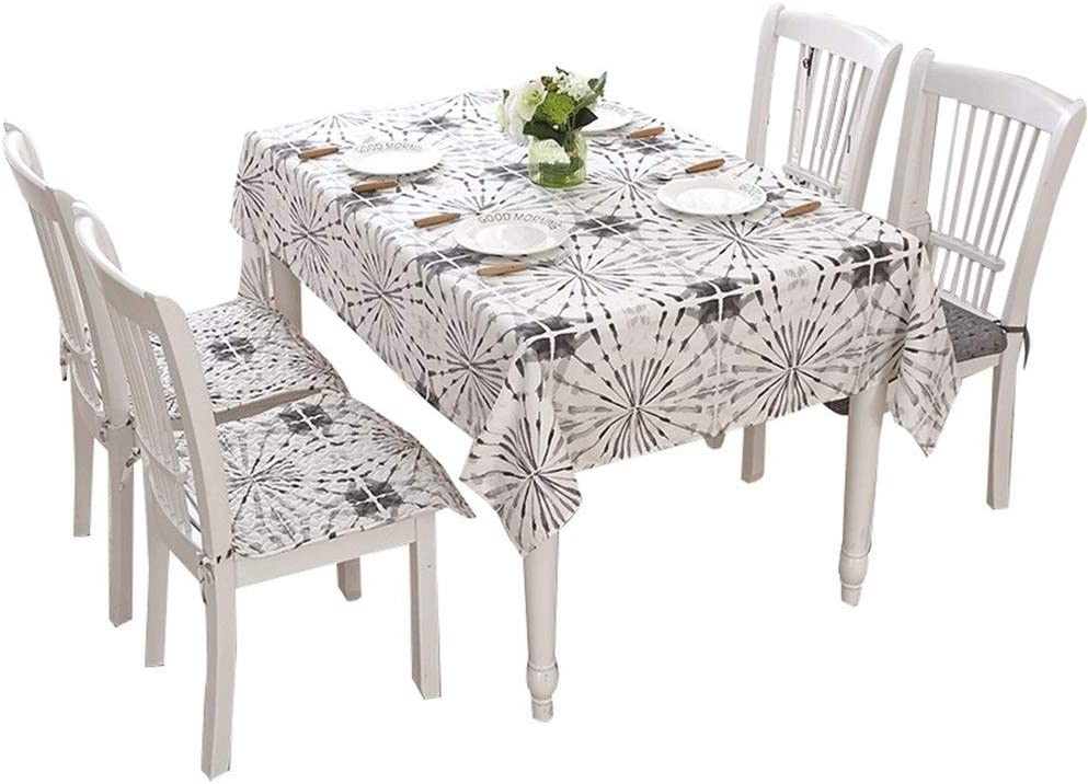 Binzhi Tablecloth Fabric Coffee Table Cotton And Linen Rectangular Lattice Garden Small Fresh Tea Table Round Table Square Table Cloth Towel Tablecloth Size 140x190cm Amazon Ca Home Kitchen