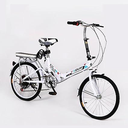 XQ XQ164URE 20 Pulgadas Bicicleta Plegable 6 Velocidad Bicicleta Hombres y Mujeres Bicicleta Bicicleta de los