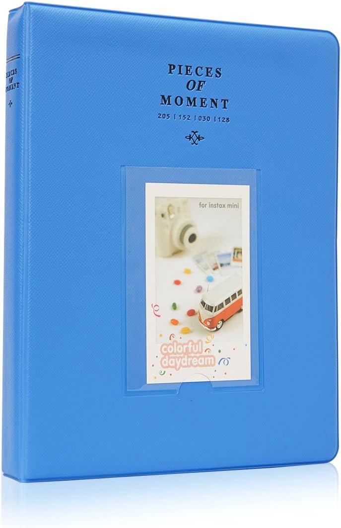 Annle 64 Bolsillos Accesorios para /álbum de Fotos de 3 Pulgadas para Fujifilm Instax Mini Camera//HP Sprocket Photo Printer//Polaroid Snap C/ámaras Instant/áneas SocialMatic y Zip Instant Printe Z2300