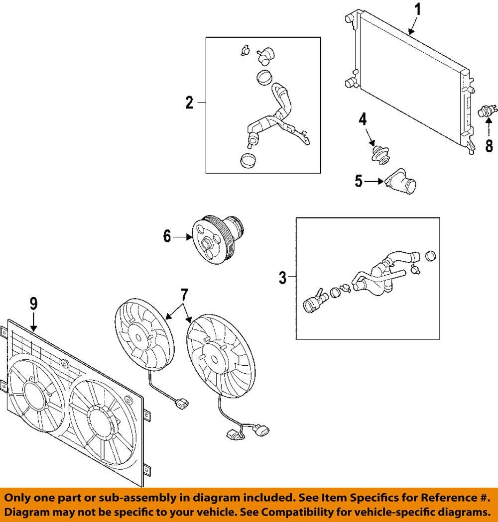 [DIAGRAM_3US]  Amazon.com: 06F121111F 2.0T thermostat: Automotive | Vw 2 0t Engine Diagram |  | Amazon.com