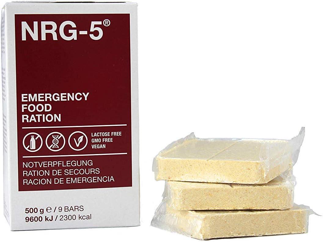 Raciones, NRG-5, 500 G, (9 bricolour), 7% IVA