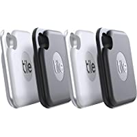 Tile Pro (2020) 4-pack - High Performance Bluetooth Tracker, Keys Finder and Item Locator… photo