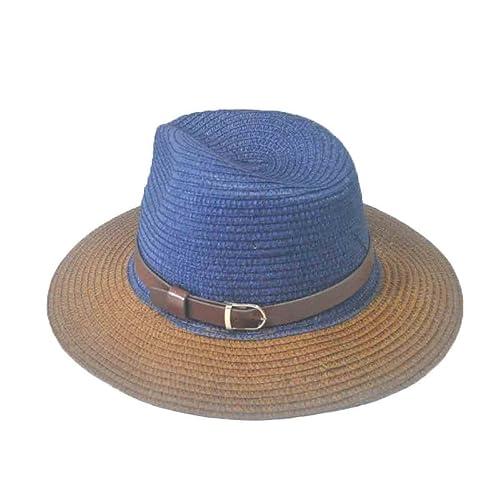 ZHDADA Señoras Sombrero De Sol De La Personalidad De Sun Del Verano Sombrero De La Playa