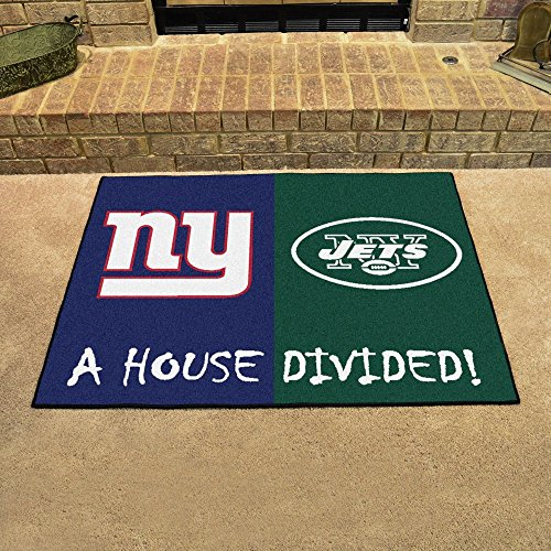 Fan Mats 8463 NFL - NY Giants vs NY Jets 34