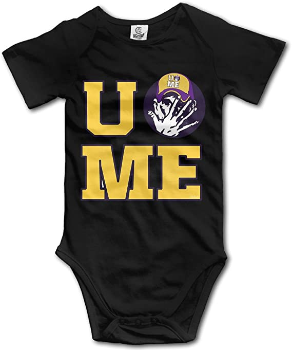 John Cena You Cant See Me Logo infant Baby Boy Clothes One PIECE Bodysuit