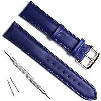 - Correa piel de repuesto hecha a mano para reloj.