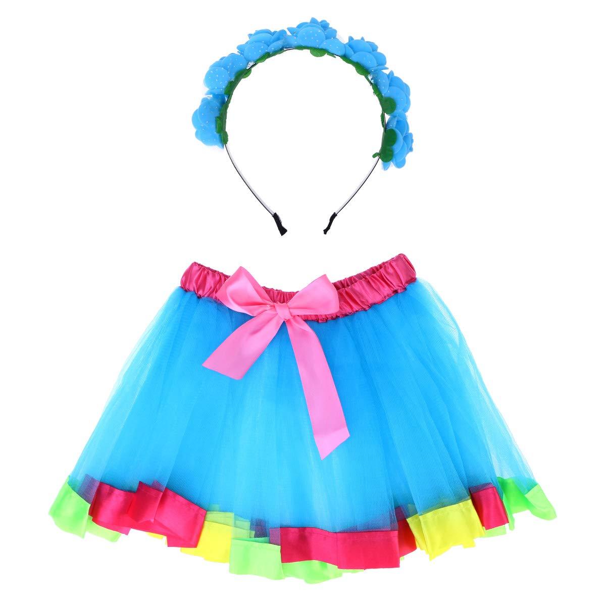 FENICAL Disfraz de Unicornio para Niñas Diadema Floral con Oreja y ...