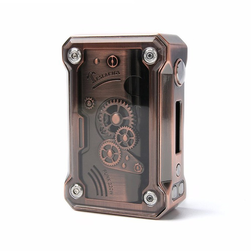 Teslacigs PUNK 220W MOD 電子タバコ TC スチームパンク パンク テスラ (Copper) B0784BBHMK Copper Copper