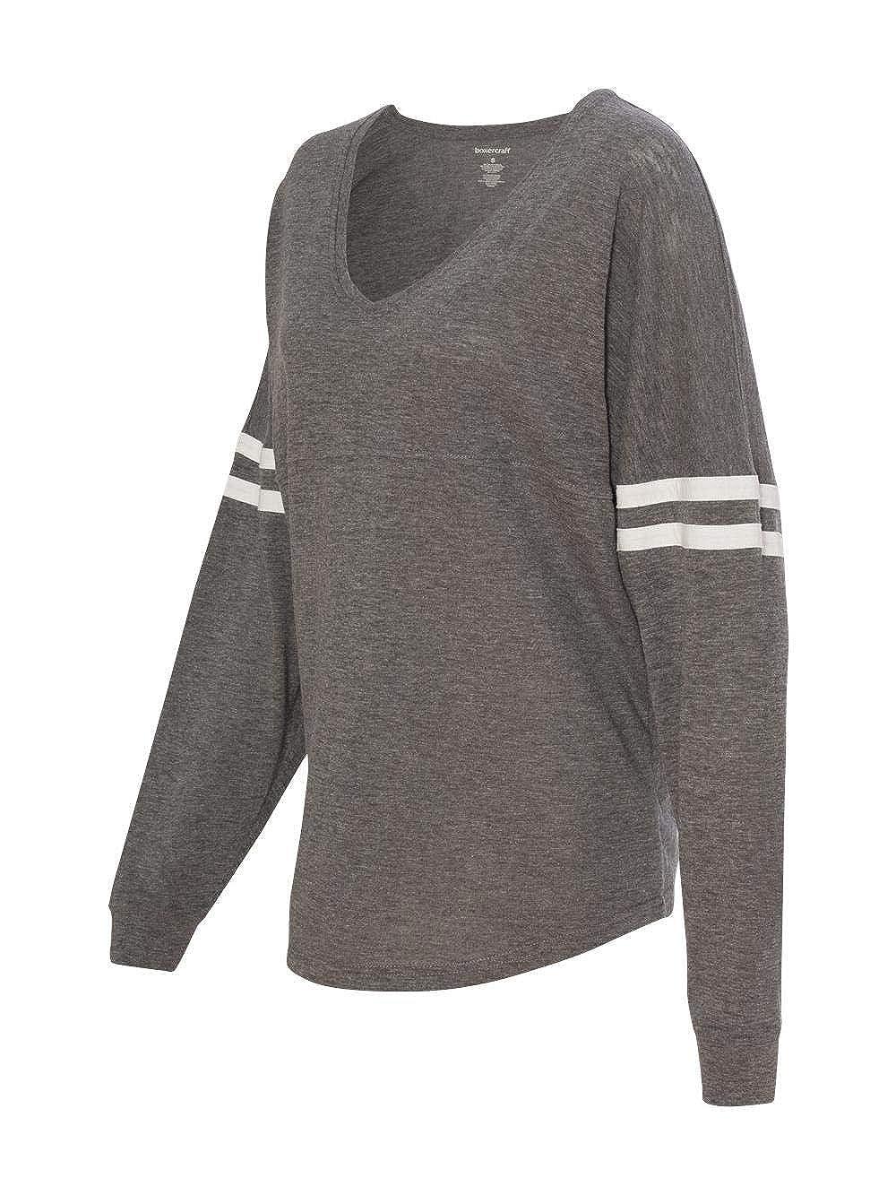 e15ff00a7 Amazon.com: Boxercraft Varsitee Slub T-Shirt - Longsleeve, Lightweight  Jersey, Adult Sizes,Granite, Medium: Clothing