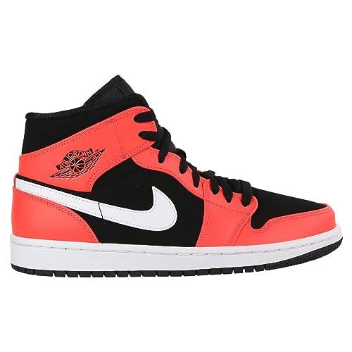 Amazon.com: Nike Air Jordan 1 Mid - Zapatillas de baloncesto ...