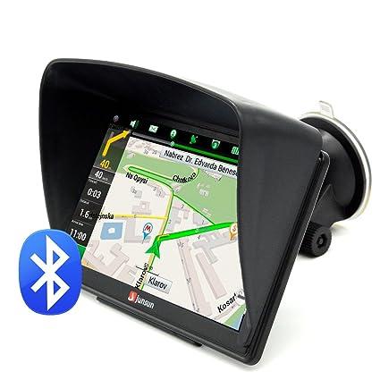 """Navegador GPS para Coche 7"""" Pantalla Táctil con Bluetooth AVIN FM 8GB/256MB Actualización"""
