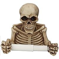 Soporte De Papel Higiénico Esqueleto Calaveras Soporte De