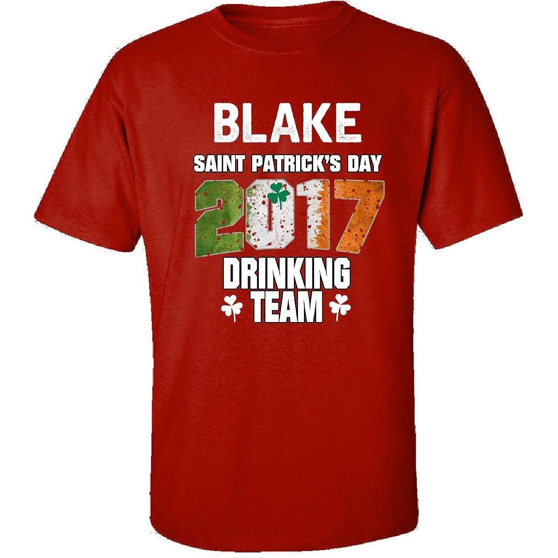 Blake Irish St Patricks Day 2017 Drinking Team - Adult Shirt
