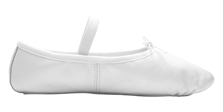 DWS Scarpe Balletto 1003 Cuoio Scarpe da Ballo Ballerina Donna Ragazze Principianti Lezioni Balletto Ginnastica Sport Allenamento Mezze Punte suola intera camoscio Ampieza M rosa Dancewear & Shoes
