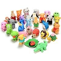 Borradores de animales para niños, 30 paquetes de mini rompecabezas, Borradores para desarmar, juego de borradores de…